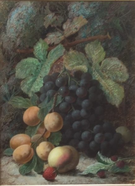 Fruit on a Mossy Bank